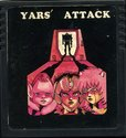 Yars' Attack Atari cartridge scan