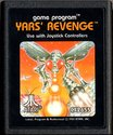 Yars' Revenge Atari cartridge scan