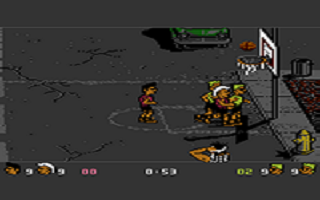 Basketbrawl atari screenshot