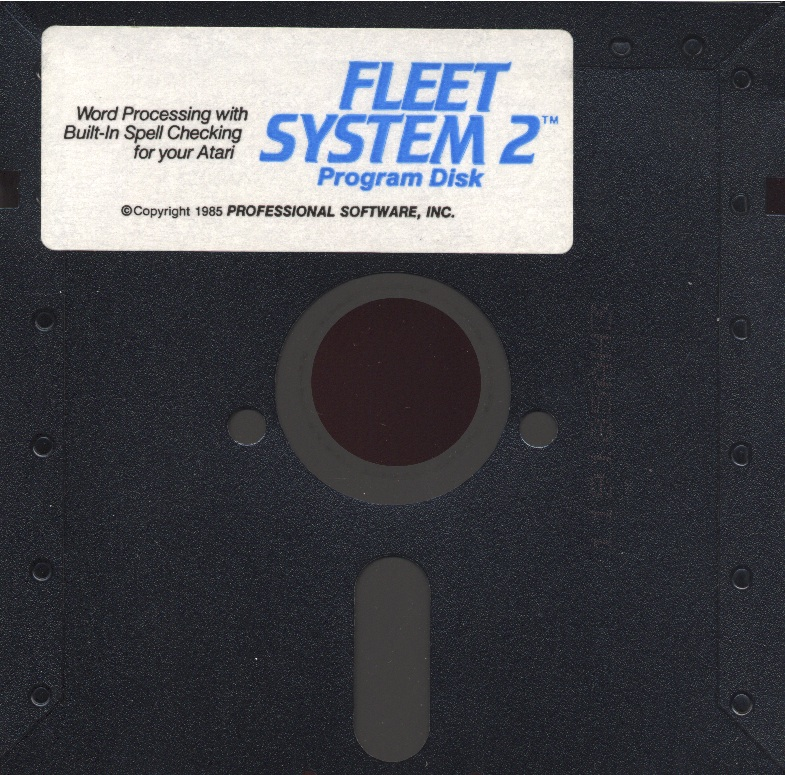 Atari 400 800 XL XE Fleet System 2 : scans, dump, download