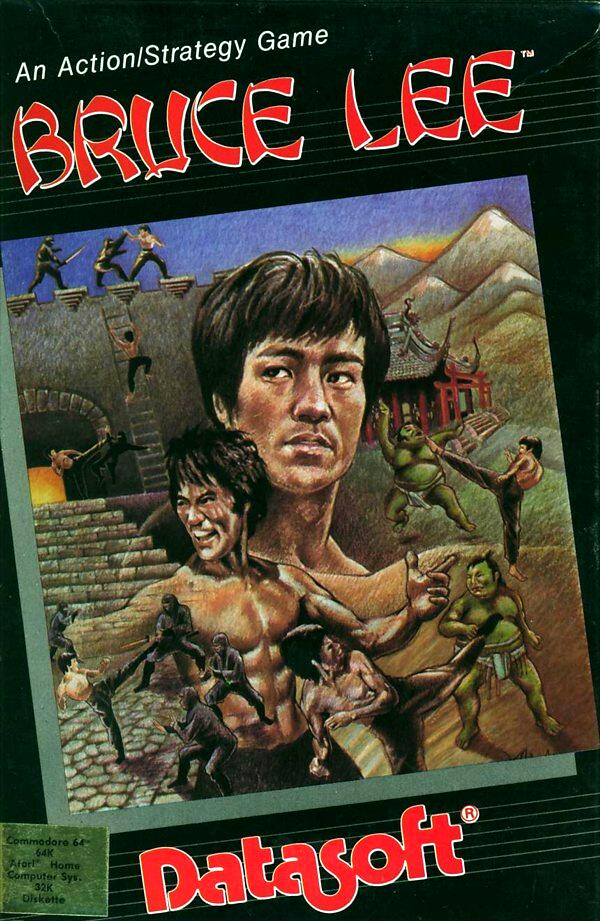 Atari 400 800 XL XE Bruce Lee : scans, dump, download, screenshots
