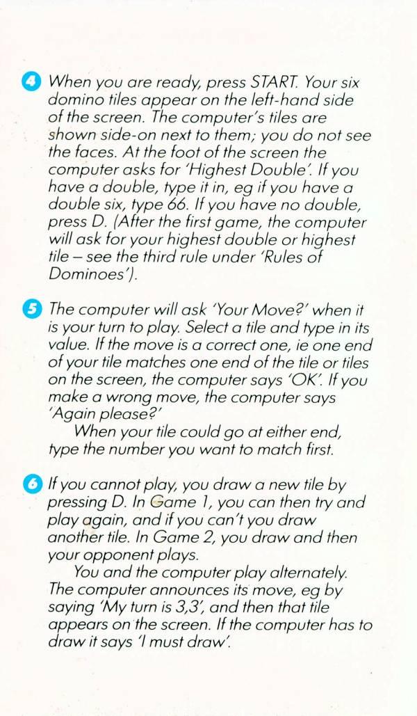 Atari 400 800 Xl Xe Cribbage Dominoes Scans Dump Download