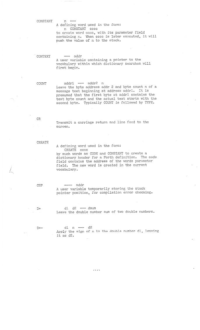 ... Fig FORTH Atari Instructions ...