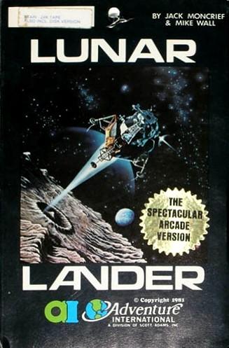 Atari 400 800 xl xe lunar lander: scans, dump, download.