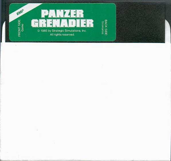 Atari 400 800 XL XE Panzer Grenadier : scans, dump, download