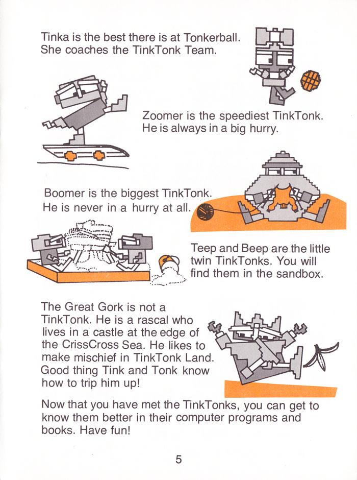 Atari 400 800 Xl Xe Tink Tonk Tinks Adventure Scans Dump