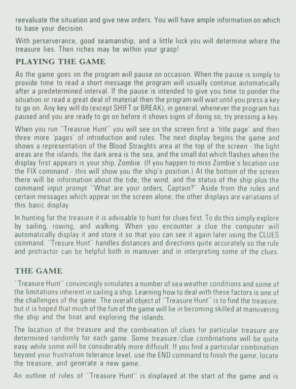 Atari 400 800 Xl Xe Treasure Quest Scans Dump Download