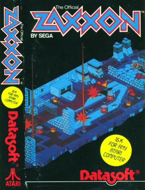 Atari 400 800 Xl Xe Zaxxon Scans Dump Download