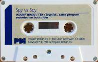 Spy vs Spy Atari tape scan