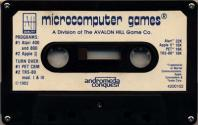 Andromeda Conquest Atari tape scan