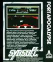 Fort Apocalypse Atari tape scan