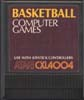 Basketball Atari cartridge scan