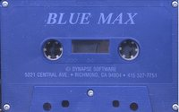 Blue Max Atari tape scan