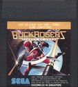 Buck Rogers Atari cartridge scan