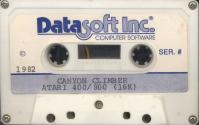 Canyon Climber Atari tape scan