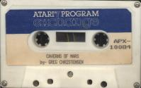 Caverns of Mars Atari tape scan