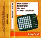 Don Paint / Surround Atari tape scan