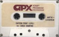 Eastern Front (1941) Atari tape scan
