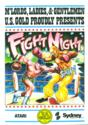 Fight Night Atari disk scan