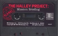 Halley Project (The) Atari disk scan