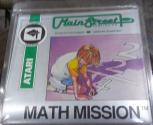 Math Mission Atari disk scan