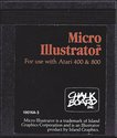 Micro Illustrator Atari cartridge scan