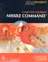 Missile Command Atari cartridge scan