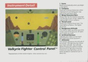 Rescue on Fractalus! Atari instructions