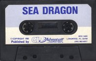 Sea Dragon Atari tape scan