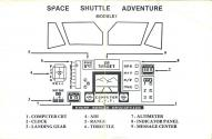 Space Shuttle - Module One Atari instructions