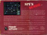 Spy's Demise Atari tape scan