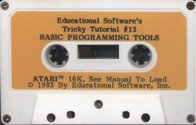 Tricky Tutorial No. 13 - Basic Programming Tools Atari tape scan