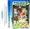Twin Pack - Cohen's Towers / Cosmic Tunnels Atari tape scan