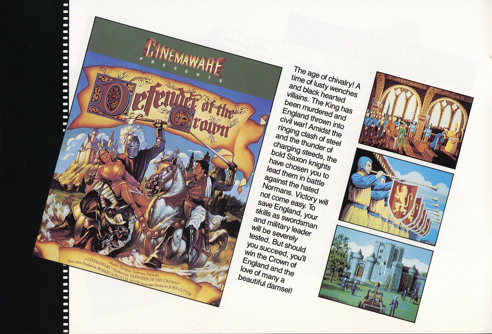 Atari ST Defender of the Crown : scans, dump, download