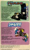 Smurf - Rescue in Gargamel's Castle Atari catalog
