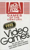 Atari 20th Century Fox / Fox Video Games  catalog