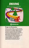 Skiing Atari catalog