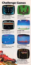 Canyon Bomber Atari catalog