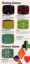 Dodger Cars Atari catalog