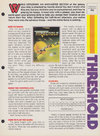 Threshold Atari catalog