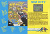 Sim City Atari catalog