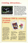 Atari 400 800 XL XE  catalog - Accolade - 1988
