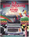 32 BASIC Programs ATARI Computer Books