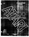 Atari 400-800 Home Computer Field Service Manual - June 1982 Technical Documents