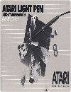Atari Light Pen and AtariGraphics Owners Guide Manuals
