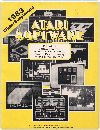 Atari Software - 1983 Winter Supplement Books