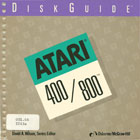 Disk Guide - Atari 400 and 800 Books