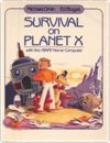 Survival on Planet X with the Atari Home Computer Books