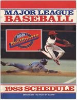 Major League Baseball 1983 Schedule V1 Other Documents