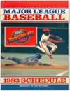 Major League Baseball 1983 Schedule V2 Other Documents